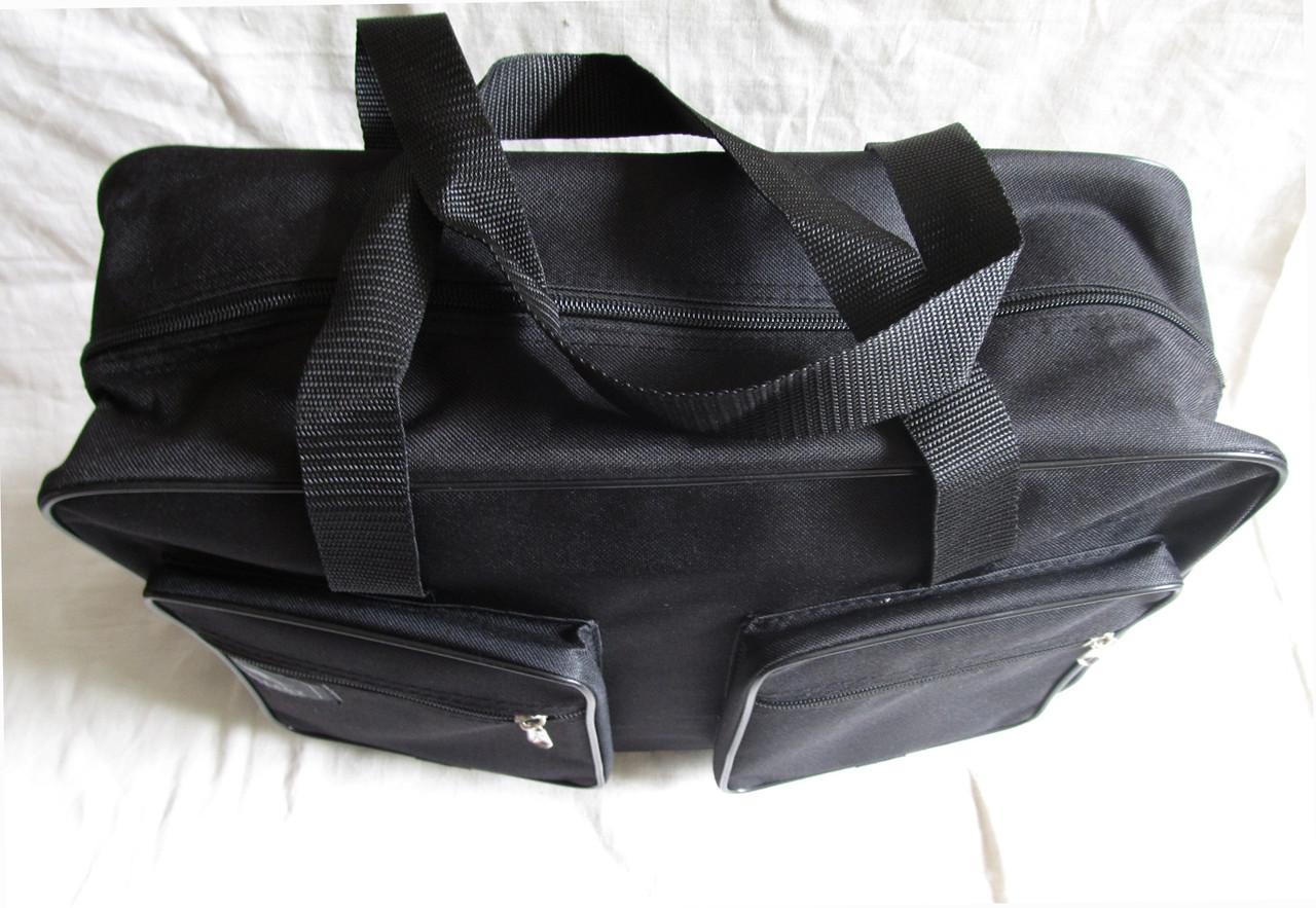 11c8a2867ea3 ... Мужская сумка Wallaby 2670 черная барсетка через плечо папка портфель  А4+ 42х28х14см, фото 3