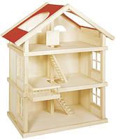 Детский кукольный домик goki 3 этажа 51957