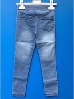 Лосины джинсовые для девочек от 3 до 12 лет