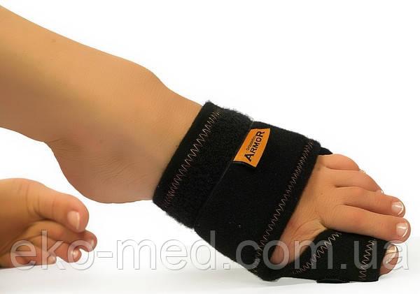 Бандаж ортопедический при вальгусной деформации сустава большого пальца стопы (ночной) Аrmor (Турция)