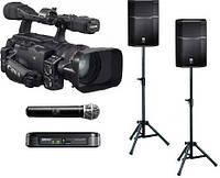 Прокат, аренда комплекта звука для проведения видеосъемки