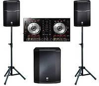 Прокат, аренда комплекта звука JBL мощностью 3000 Вт.