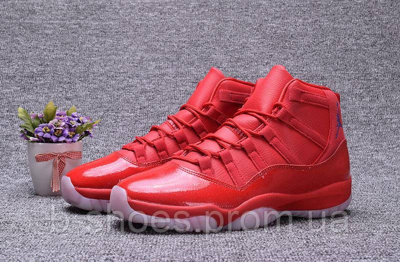 Мужские баскетбольные кроссовки Air Jordan Retro 11 (Red)