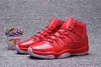 Мужские баскетбольные кроссовки Air Jordan Retro 11 (Red), фото 1