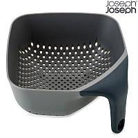 Дуршлаг Joseph Joseph Square Colander Medium серый 40073