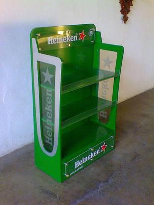 Стенд рекламный для Heineken