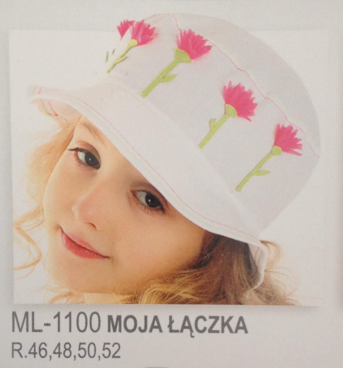 Елегантний капелюшок з аплікацією для юної леді від Marika Польща