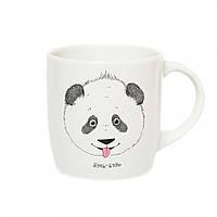 Веселая детская чашечка Панда Буль-Буль с пандочкой
