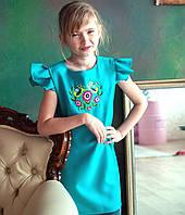 Плаття вишите  Красуня (5-6 та 3-4 років)