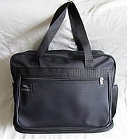 Мужская сумка через плечо Барсетка деловая А4 32х26+12х19см