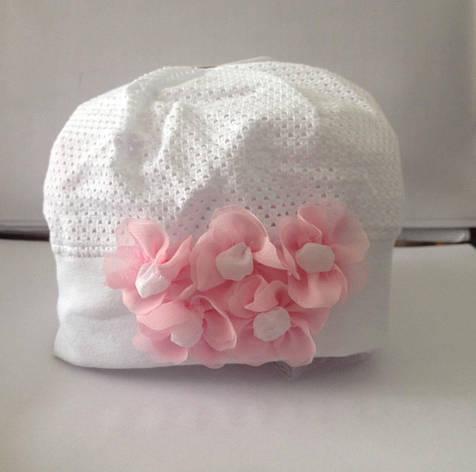 Модна шапочка для дівчинки від польського виробника Marika, фото 2