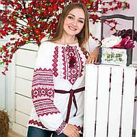 Вишиванка  (ручна вишивка, домоткана тканина)- 50розмір