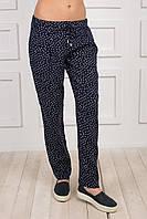 Летние женские брюки из штапеля.