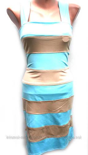 Платье стрейч коттон