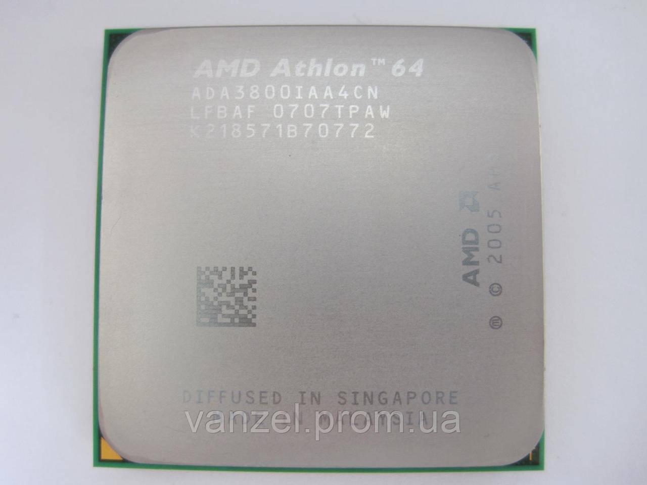 AMD ATHLONTM 64 PROCESSOR 3800 2.4GHZ DESCARGAR CONTROLADOR