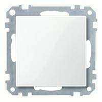 System m, заглушка, белый блестящий MTN391619