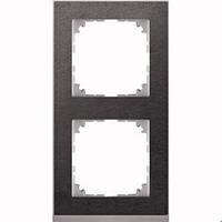 M-pure рамка, 2-постовая камень/алюминий. MTN4020-3669