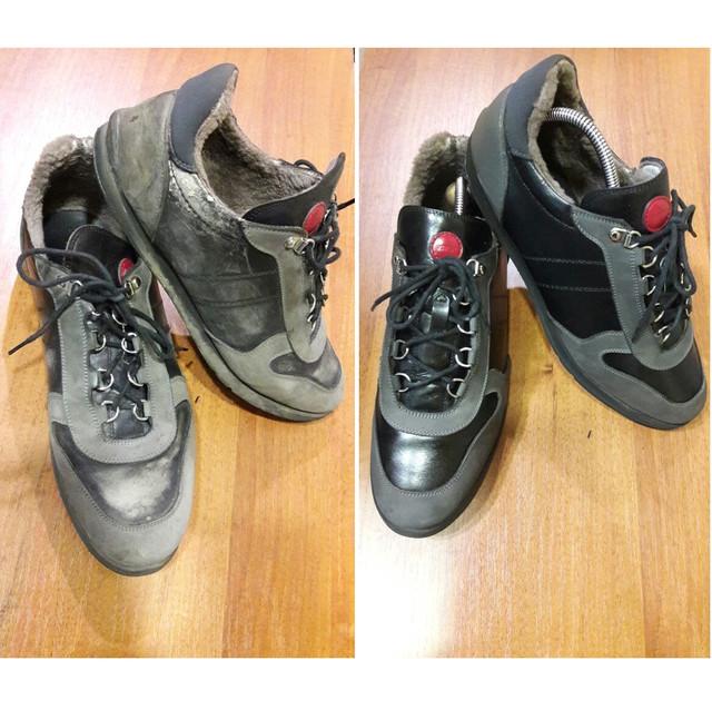 реставрация обуви, восстановление обуви, ремонт обуви
