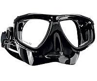 Маска для плавания Scubapro Zoom; чёрная скубапро зум подводной охоты дайвинга снорклинга
