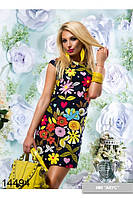 Платье из льна 2 цвета с44 по 48 размер