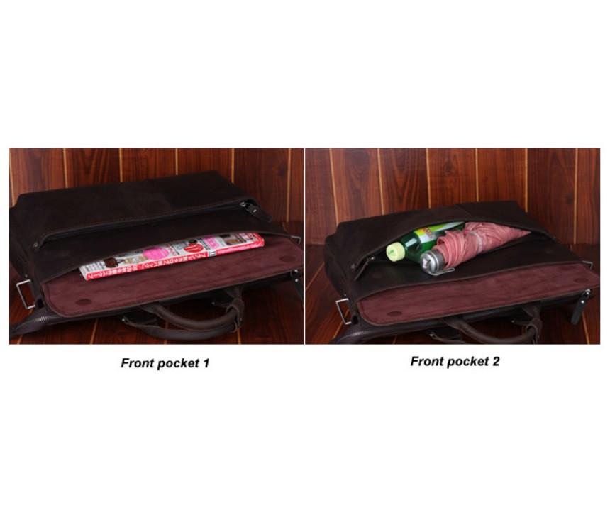 Сумка TIDING BAG T1096 темно-коричневая – купить в интернет-магазине ... 2a5f828e3dbf4