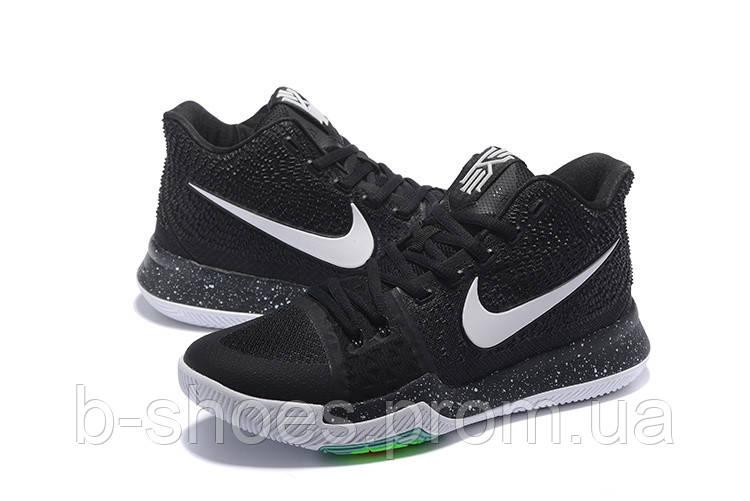 Детские баскетбольные кроссовки Nike Kyrie 3 (Black Ice)