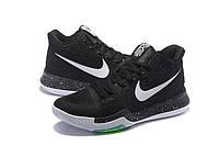 Детские баскетбольные кроссовки Nike Kyrie 3 (Black Ice), фото 1