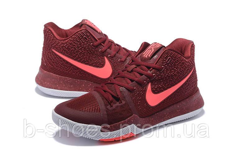 Детские баскетбольные кроссовки Nike Kyrie 3 (Team Red)
