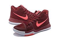 Детские баскетбольные кроссовки Nike Kyrie 3 (Team Red), фото 1