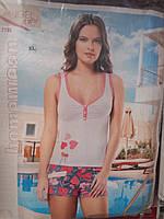 Качественная пижама  женская на лето.