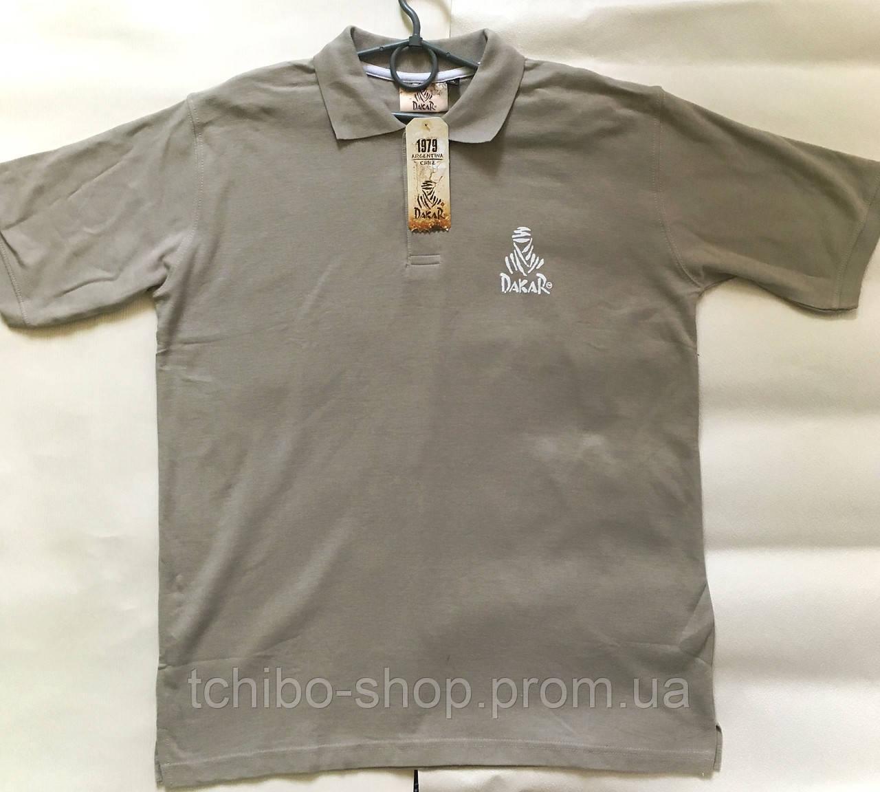e527b4c23569a Классная мужская футболка-поло от Dakar размер ХL евро -