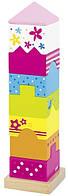 Детская пирамидка goki Башня 58542