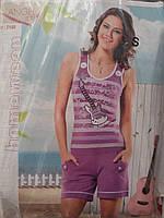 Качественная пижама  женская с шортами.