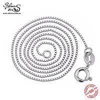 Серебряная цепочка для кулона, подвески