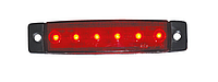 Фонарь габаритный красный YP-104