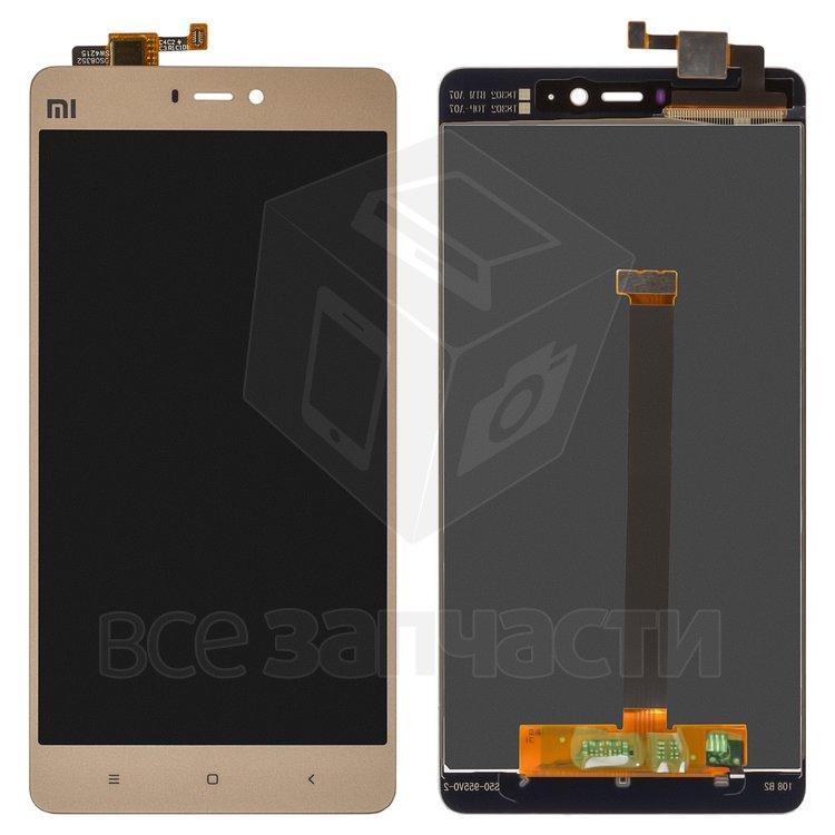 Дисплейный модуль для мобильного телефона Xiaomi Mi4s  золотой