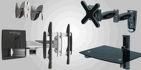 Кронштейни столики та інші кріплення для телевізорів