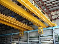 Кран мостовой электрический двухбалочный г/п 60/5 т