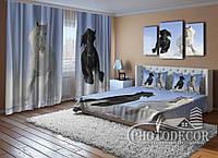 """Фото Комплект для спальни """"Лошади"""""""
