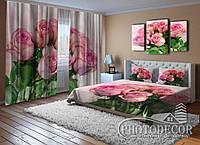 """Фото Комплект для спальни """"Букет роз"""""""