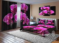 """Фото Комплект для спальни """"Ветка орхидеи"""""""