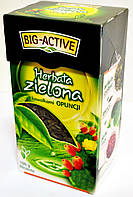 Чай зеленый с плодами кактуса Big active z Kawalkami Opuncji 100 г.