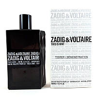Zadig & Voltaire This is Him туалетная вода - тестер, 100 мл, фото 1
