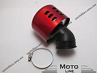 Воздушный фильтр нулевого сопротивления, 35 мм, 45 градусов (красный) Mototech