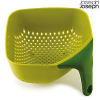 Дуршлаг Joseph Joseph Square Colander Medium зеленый 40056