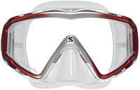 Маска для плавания Scubapro Crystal Vu; прозрачная Скубапро Кристал Ву подводной охоты дайвинга снорклинга