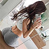 Леггинсы треггинсы с пуш-ап эффектом бразильская попка, фото 7