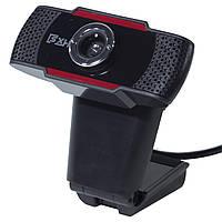 Веб камера с микрофоном LESKO S 20 универсальная USB для скайпа видеосвязи звонков фото точная чувствительная
