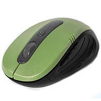 Беспроводная игровая мышь Rapoo 7100 зеленая для ноутбука компьютера PC юсб USB коннектор универсальная