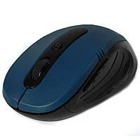 Rapoo 7100 игровая радио мышь синяя оптическая лазерная USB юсб коннектор 1600 dpi игр онлайн беспроводная